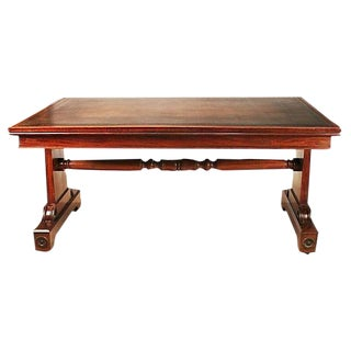 English Regency Mahogany Writing Table