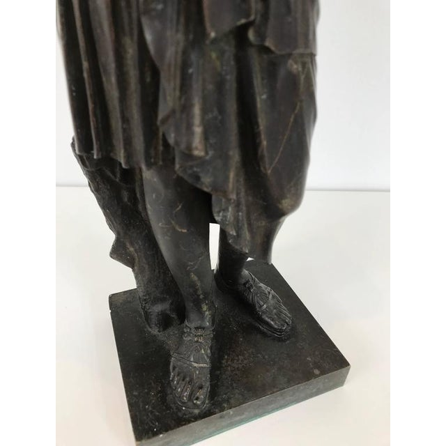 19th Century Grand Tour Bronze Figure of Diana For Sale In Philadelphia - Image 6 of 8