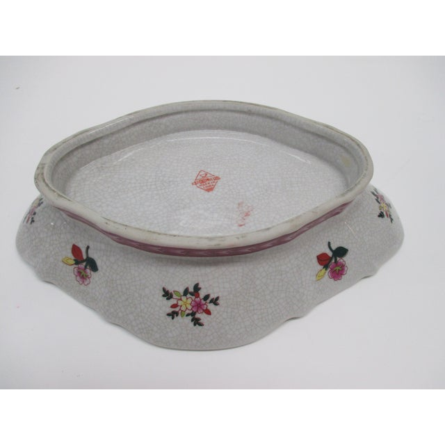 Chinese Export Ceramic Catchall Decorative Dish For Sale - Image 4 of 6