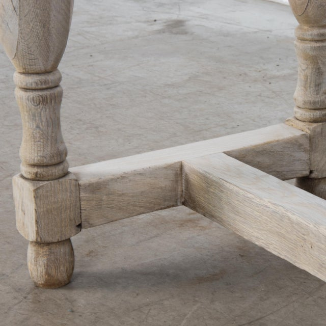 Antique French Oak Table With Drawer For Sale - Image 9 of 12