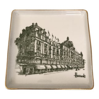 Harrods Porcelain Tray For Sale