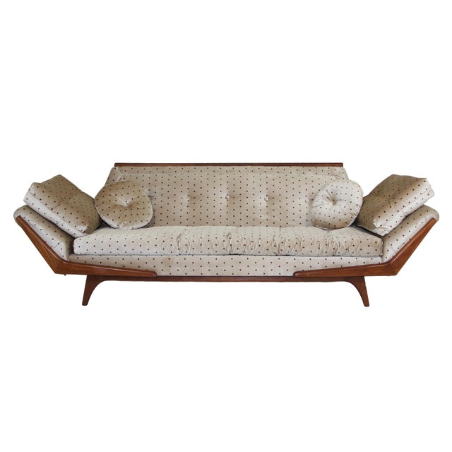 Mid Century Sofa Inspired by Adrian Pearsall Made by Rowe For Sale - Image 10 of 10
