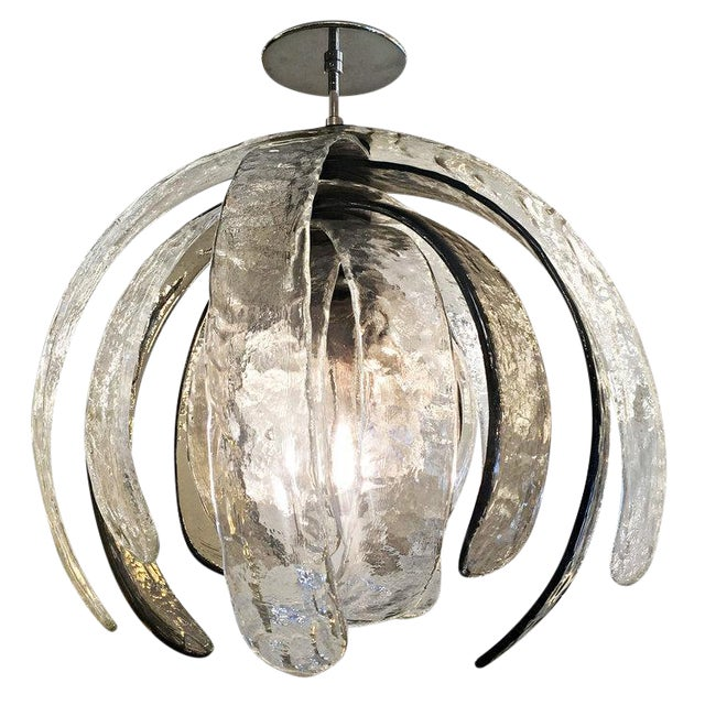Artichoke Murano Glass Chandelier by Mazzega - Image 1 of 6