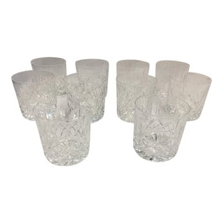 Waterford Lismore Old Fashioned Glasses Set of 10 For Sale