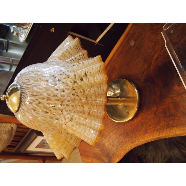 Murano Glass Handkerchief Lamp - Image 2 of 4