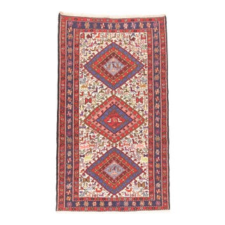 Vintage Persian Soumak Rug For Sale