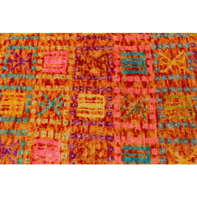 """2010s Modern Gabbeh Rug, 2'0"""" X 5'0"""" For Sale - Image 5 of 10"""
