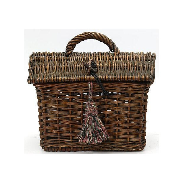 19th Century 19th Century French Ladies Market Basket For Sale - Image 5 of 5