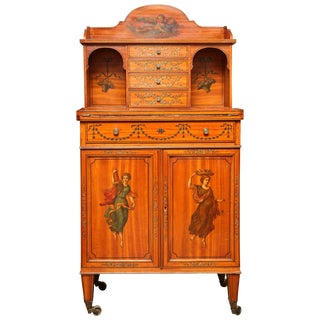Fine 19th Century Adam Style Lady's Desk For Sale
