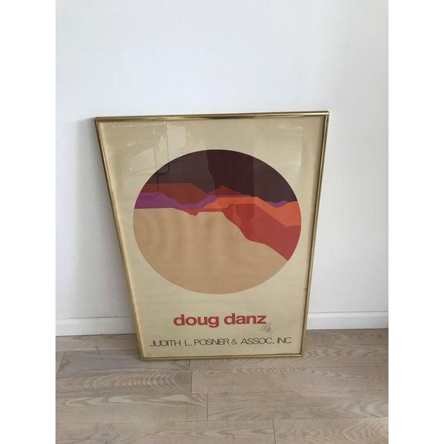Vintage Doug Danz Framed Poster - Image 4 of 9