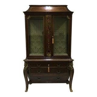 1970s Napoleon III Empire Style Cabinet