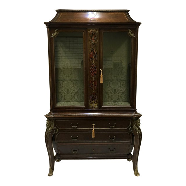 1970s Napoleon III Empire Style Cabinet For Sale
