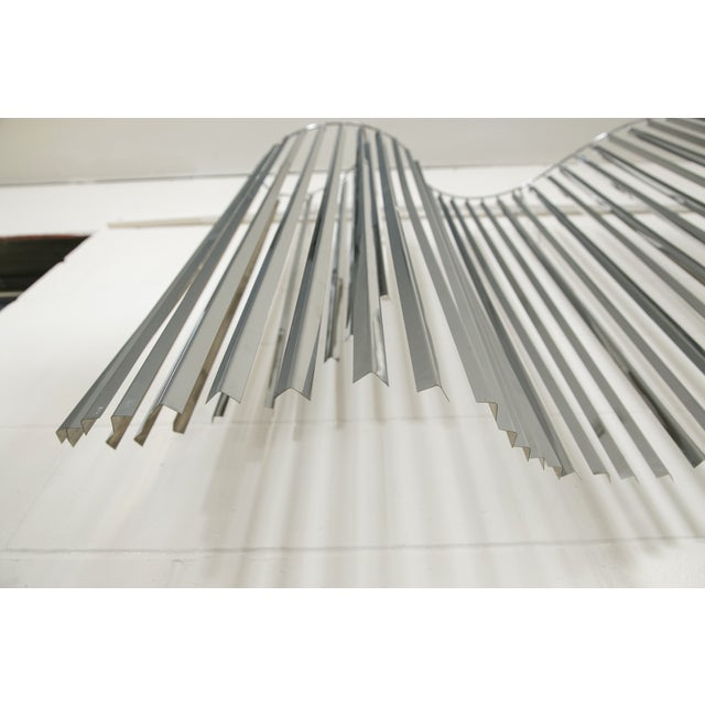 Curtis Jere Silver Kinetic Wall Hanging - Image 6 of 9