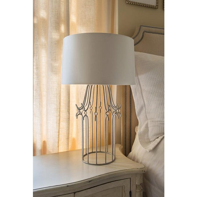 Stella Silver Table Lamp For Sale In Baton Rouge - Image 6 of 8