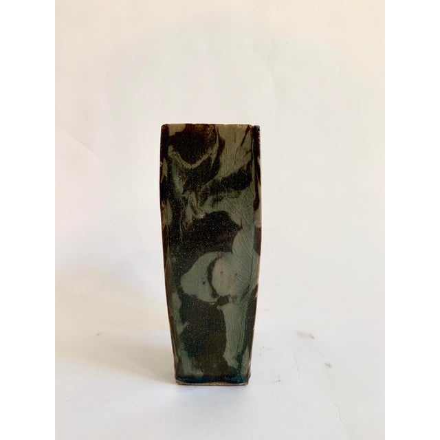 1980s Vintage Ceramic Ikebana Sculptural Vase For Sale - Image 5 of 10