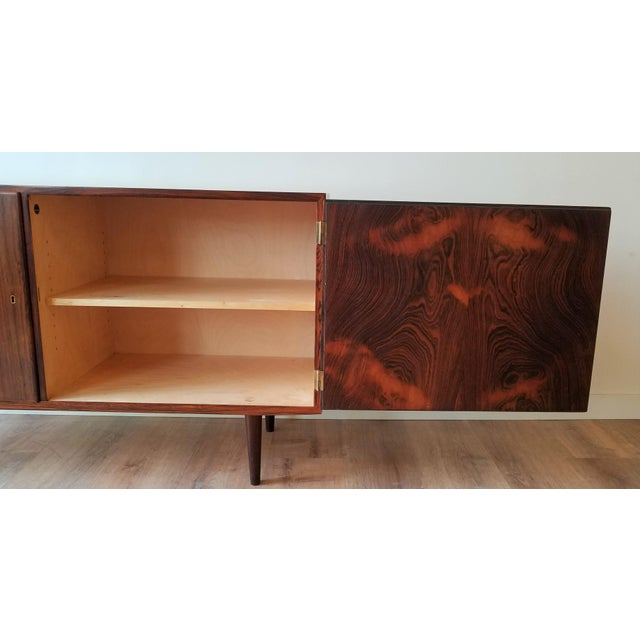 Mid-Century Modern Fully Restored Poul Hundevad Rosewood Sideboard For Sale In Seattle - Image 6 of 13