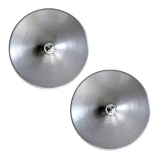 German Honsel Flush Mount Lights -a Pair