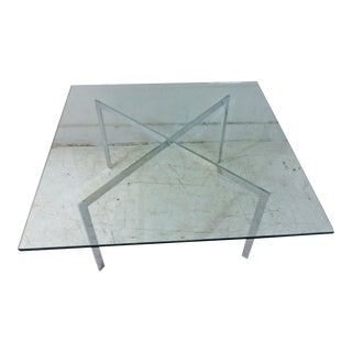 1970s Mies Van Der Rohe Barcelona Coffee Table