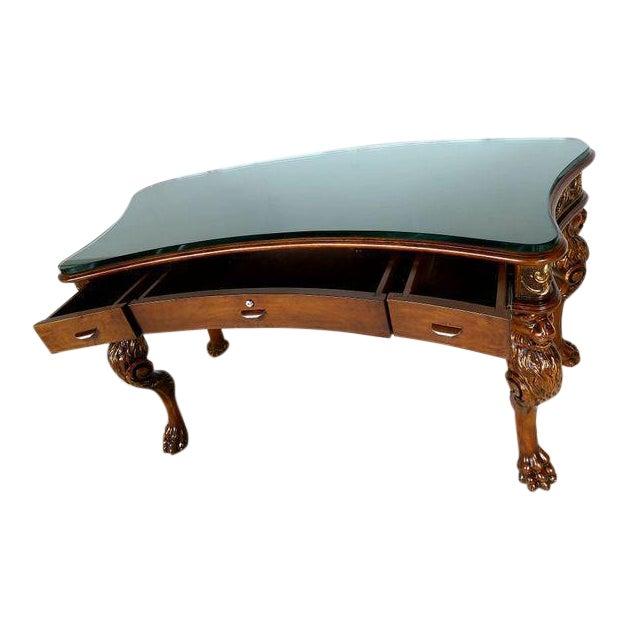 Medieval English Carved Wood Desk - Image 1 of 7