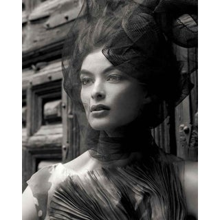 """Vogue 7"" Black & White Portrait Photograph For Sale"