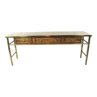 Charak Furniture Credenza Sofa Table For Sale