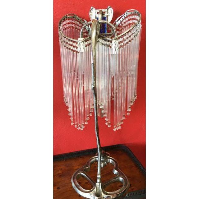 Art Nouveau Lamps After Hector Guimard Lustre Lumière - A Pair - Image 5 of 9