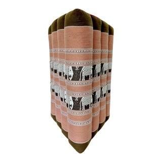 Thai Elephant Triangular Back Rest Pillow/Cushion