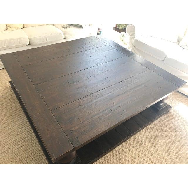 Restoration Hardware Balustrade Coffee Table Chairish