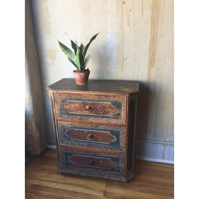 Small Arte Povera Chest of Drawers For Sale - Image 5 of 11