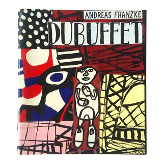 Rare 1st Edition 1981 Jean Dubuffet Oversized Volume Collector's Art Book
