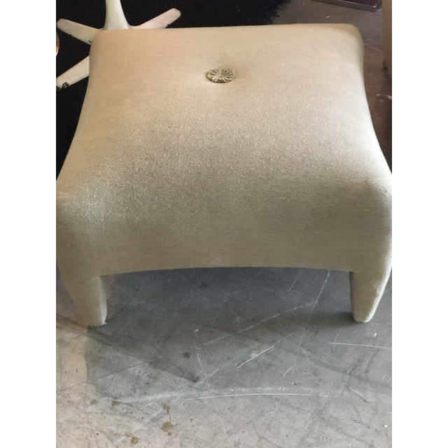 1990s Vintage John Hutton for Donghia Phantom Chair & Ottoman For Sale In Miami - Image 6 of 11