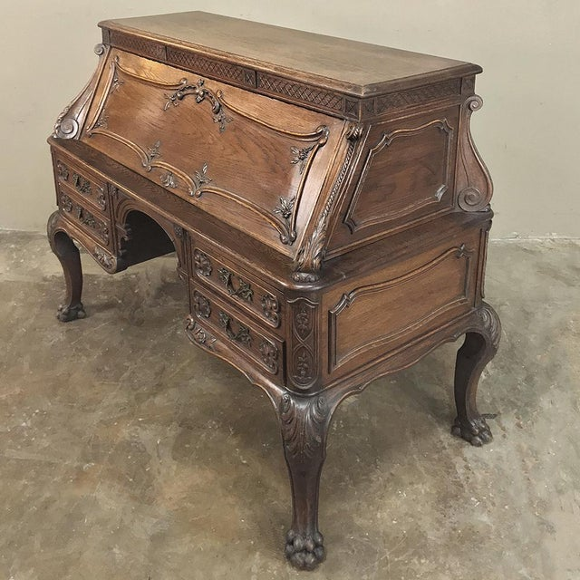 19th Century French Louis XIV Secretary For Sale - Image 4 of 13