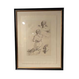 Framed 19th Century Italian Engravings For Sale