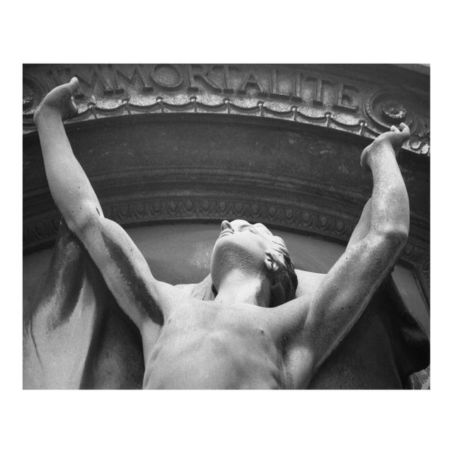 Immortalite, Pere Lachaise, Paris Original Photograph For Sale
