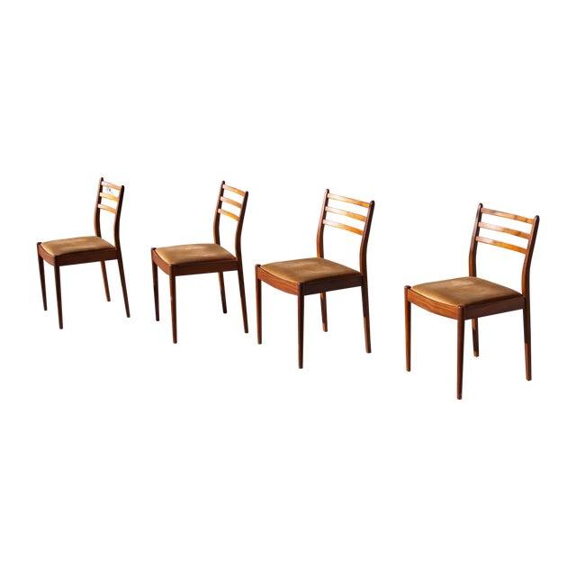 Danish Modern Dining Chairs, Kofod Larsen - 4 - Image 1 of 4