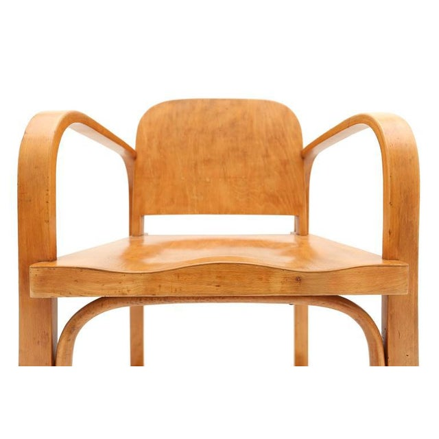 Wood Czech Plywood Chair Tatra For Sale - Image 7 of 8