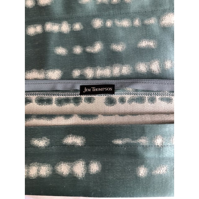 """Pair of 24"""" Jim Thompson Pillows For Sale - Image 10 of 11"""