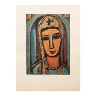 1947 Georges Rouault, Veronique Original Period Parisian Lithograph For Sale