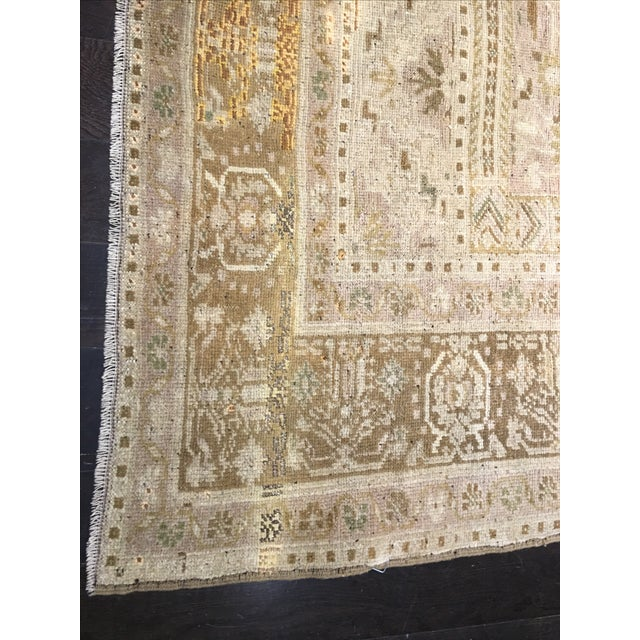 "Vintage Turkish Oushak Rug - 6'10"" x 11'7"" - Image 8 of 8"