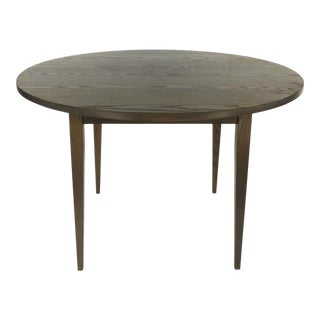 Contemporary O & G Studio Warren Cerused Oak Dining Table For Sale