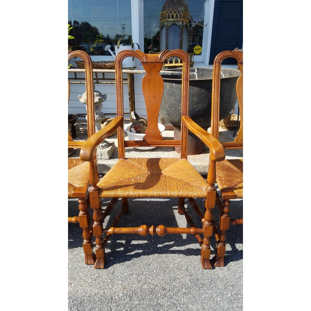 Stickley Reproduction Queen Anne Dining Chairs - Set of 6 - Image 3 of 9