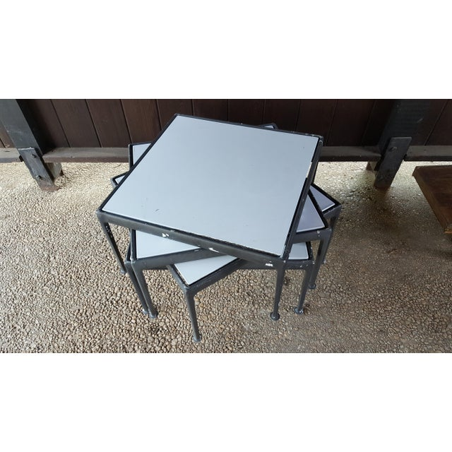 1960s Mid-Century Modern Knoll Richard Schultz Coffee Table / Outdoor Patio Furniture For Sale - Image 9 of 10