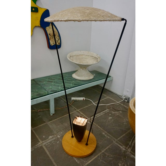 """1950s """"Control"""" Floor Lamp by Mitchell Bobrick For Sale - Image 5 of 9"""