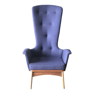 Sculptural High Back Chair by Adrian Pearsall For Sale