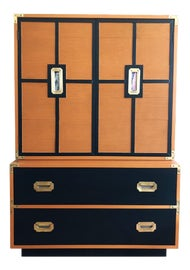 Image of Mid-Century Modern Armoires Wardrobes and Linen Presses