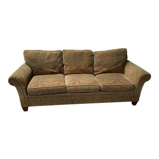 Stickley Mission Style 3 Seater Sofa For Sale