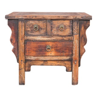 Charming Country Style Asian Altar Table For Sale