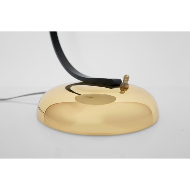 Mid 20th Century Bauhaus Brass Lamp For Sale - Image 5 of 6