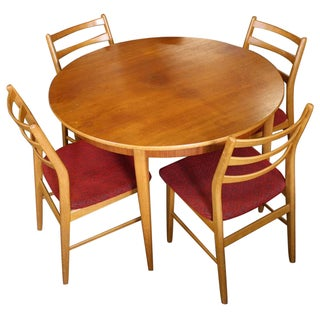Danish Modern Extendable Dining Set