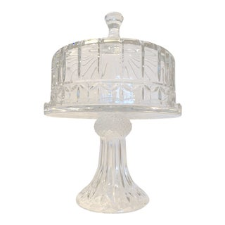 Crystal Cake Pedestal and Dome